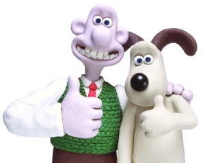 Wallace and Gromit stop motion