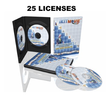 iKITMovie Multi License 25 Users