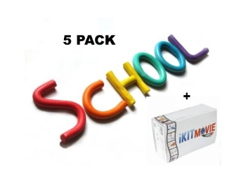 5 Pack School - 5 KIT Pack