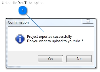 youtube dialog - iKITMovie -Uploading to Youtube