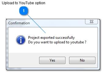 iKITMovie Youtube Dialog - Uploading to youtube