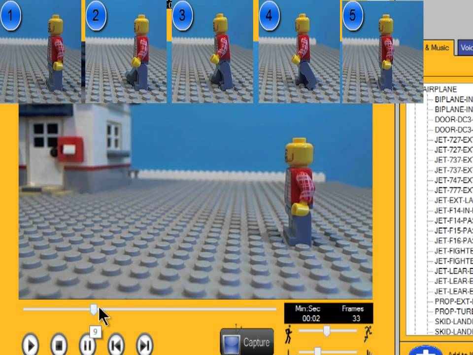 Frame Rate LEGO Stop Motion - Top 10 Tips for LEGO Stop Motion Animation Ideas