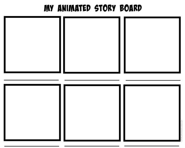 Story board for LEGO Animation - Top 10 Tips for LEGO Stop Motion Animation Ideas